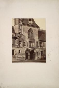 Constant Alexandre Famin; Hotel Jacques Coeur at Bourges; c.1865; albumen print from wet collodion negative; The Cleveland Museum of Art