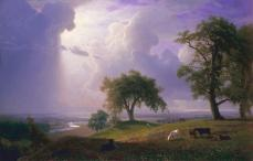 Albert Bierstadt; California Spring; 1875; oil on canvas; 187.3 x 264.2 x 15.9 cm; Fine Arts Museums of San Francisco