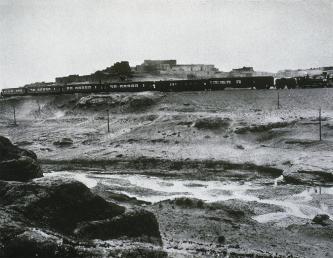 William H. Jackson; California Limited at Laguna Pueblo, New Mexico