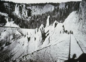 William H. Jackson; Phantom Curve, Colorado