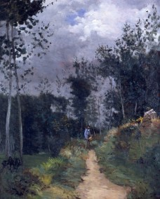 Alfred Sisley; Rural Guardsman in the Fontainebleau Forest; 1870