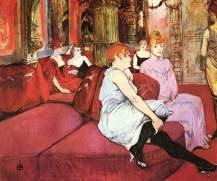 Der Salon in der Rue des Moulins