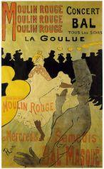 Moulin Rouge La Goulue 1891