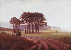 Caspar David Friedrich; Four Times of Day: Noon; 1820-5; oil on canvas; 22 x 30.5 cm