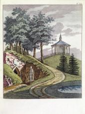 G. Van Laar; Magazijn van Tuin-Sieraaden; 1802; drawing