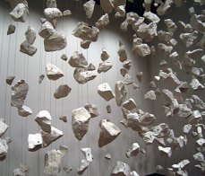 Cornelia Parker; Edge Chalk Quarry