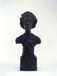 Alberto Giacometti; Annette VII; 1962; bronze; 46.99 x 19.05 cm; San Francisco Museum of Modern Art
