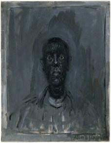 Alberto Giacometti; Head of Diego; 1961; oil on canvas; 45.1 x 35 cm; Museum of Fine Arts, Boston