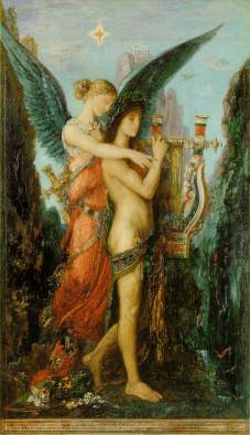 moreau hesiod and the muse 1891