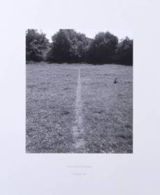 Richard Long; A Line Made by Walking; 1967