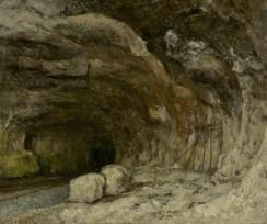 Jean Gustave Courbet; Grotto of Sarrazine Near Nans-Sous-Sainte-Anne