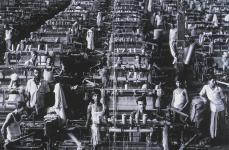Sebastiao Salgado; Textiles, Bangladesh and Kazakhstan; 1989