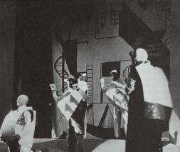 Kazimir Malevich; Victory Over the Sun; 1913; set design; Brooklyn Academy of Music