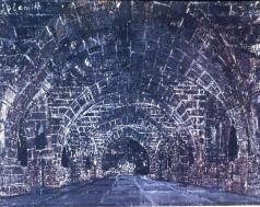 Anselm Kiefer; Sulamite; 1983; oil, emulsion, shellac, acrylic