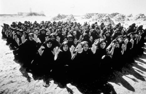 """Shirin Neshat; Untitled from """"Rapture"""" Series; 1999; photograph"""