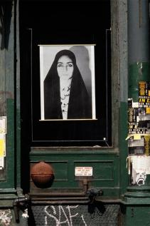 Shirin Neshat; Unveiling; 1993; Installation; Source material in Franklin Furnace Archine, Inc., Brooklyn, NY