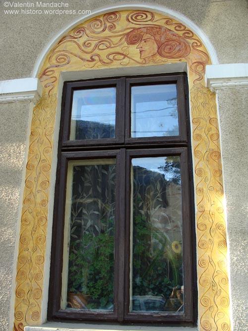 Art Nouveau style window, Bucharest