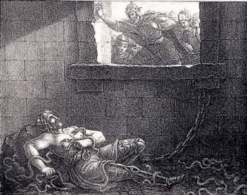 """""""Ragnar Lodbroks död"""", Hugo Hamilton"""