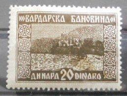 vardarska 20 Η Βαρντάρσκα Μπανόβινα σε σπάνιους Χάρτες, Γραμματόσημα και Διπλώματα της Γιουγκοσλαβίας