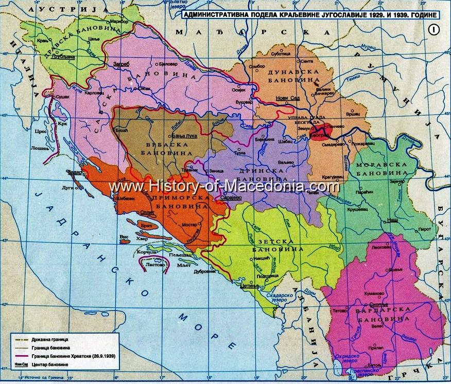 map of yugoslavia 1939 vardarska