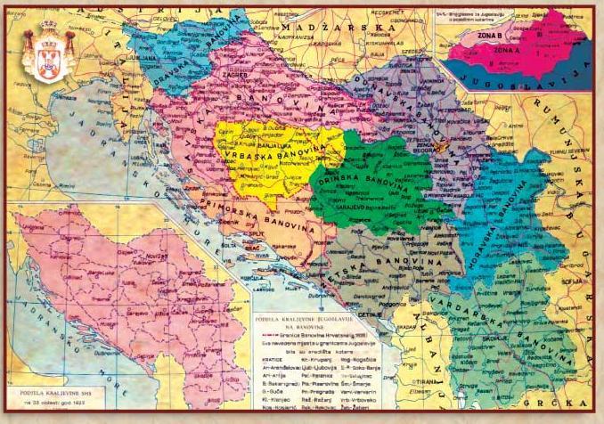 kraljevina jugoslavija 201929 Η Βαρντάρσκα Μπανόβινα σε σπάνιους Χάρτες, Γραμματόσημα και Διπλώματα της Γιουγκοσλαβίας