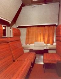 Superliner I Family Bedroom, 1980s.  Amtrak: History of ...