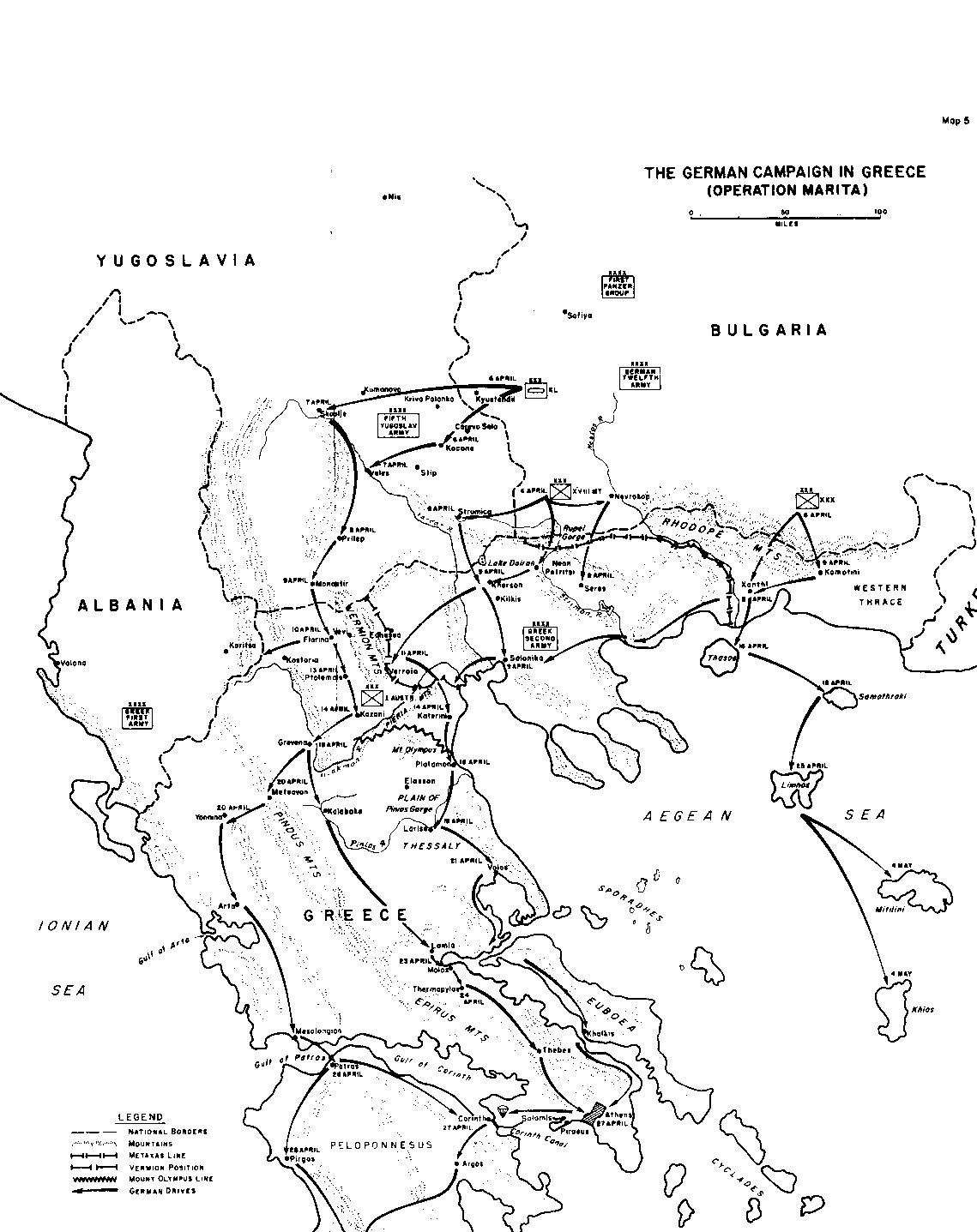 The German Campaign In The Balkans Spring Part Iii
