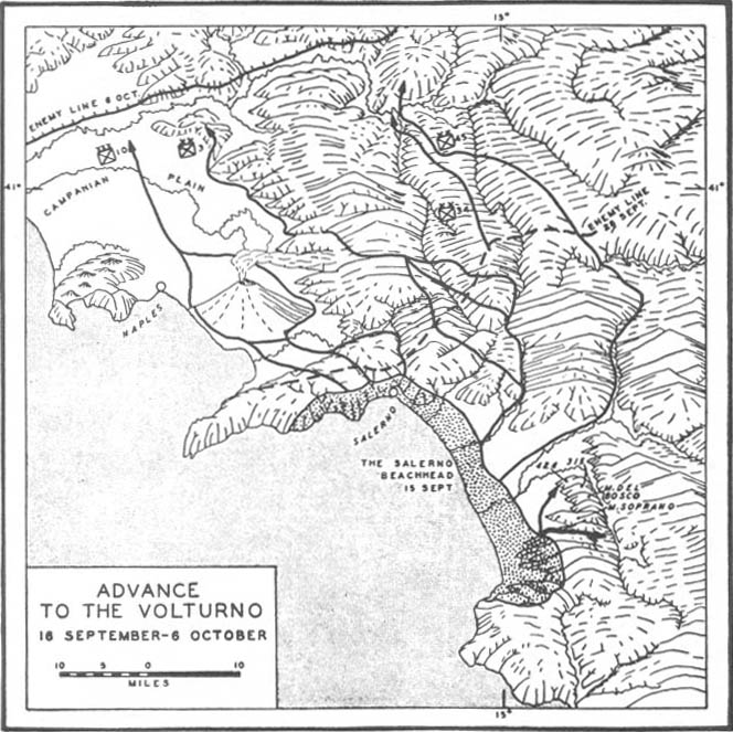 Salerno: Pursuing the Enemy(15 September-6 October)