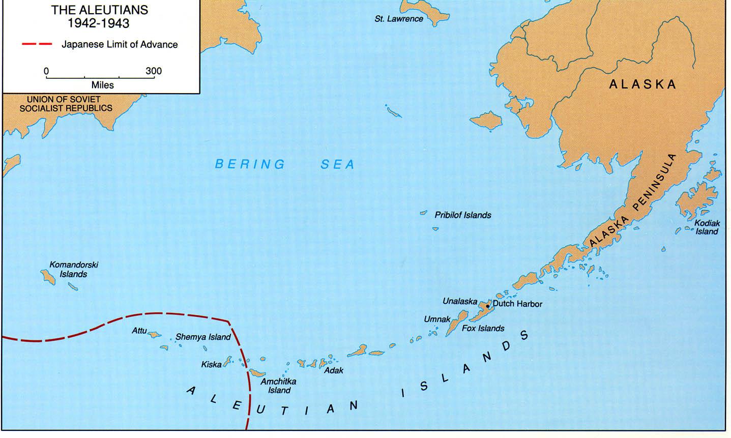 hight resolution of aleutian island diagram