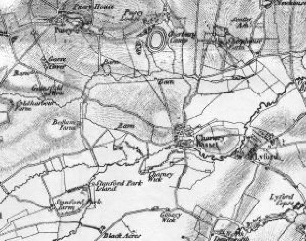 Village Map 1830
