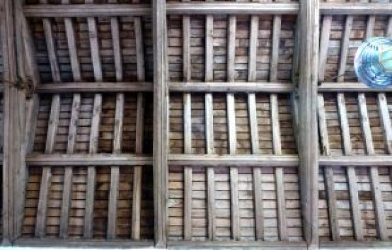15th century tie-beam roof