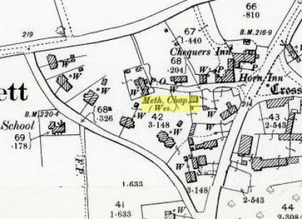 The Chapel Map