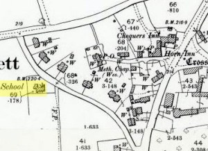 The School Map 1899