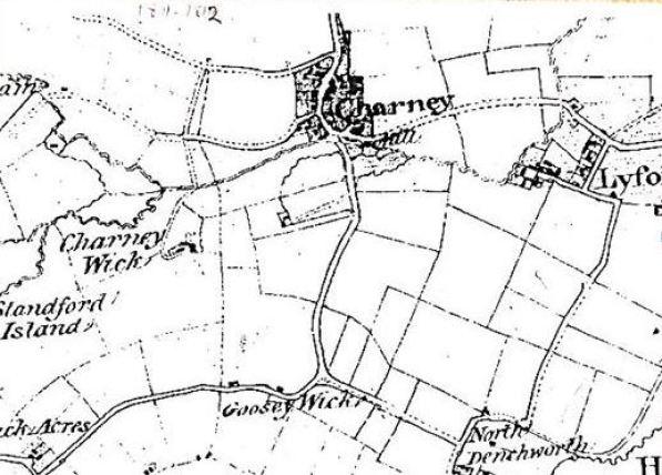 Village Map 1812