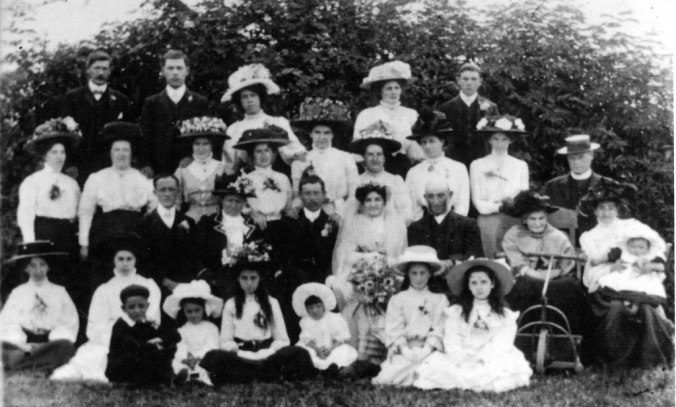 Louisa & Albert Haines' wedding 1910