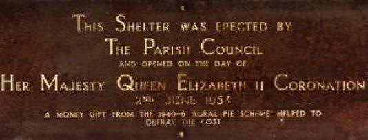 Commemorative Plaque 1953