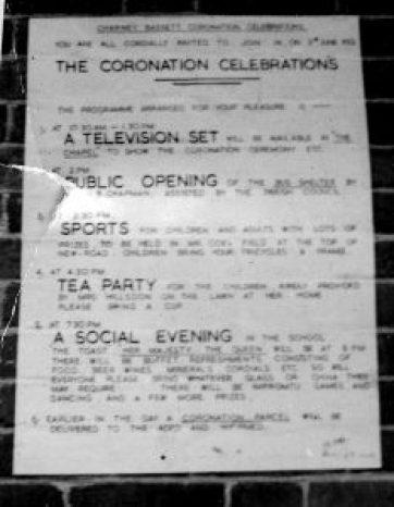 The Coronation Celebrations 1953