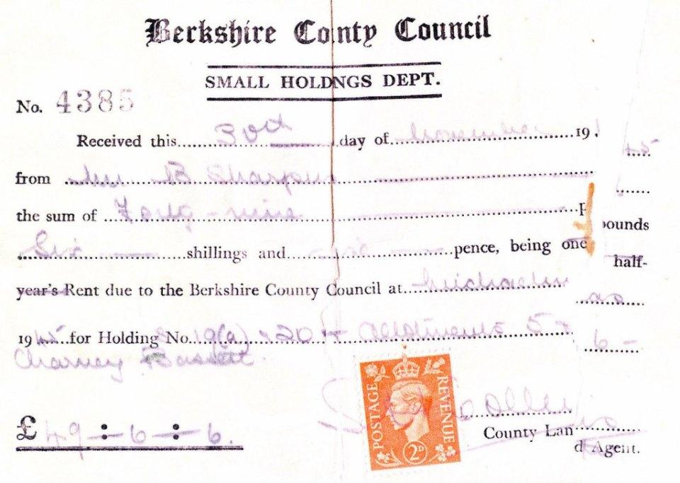 Smallholding bill - Basil Sharpus