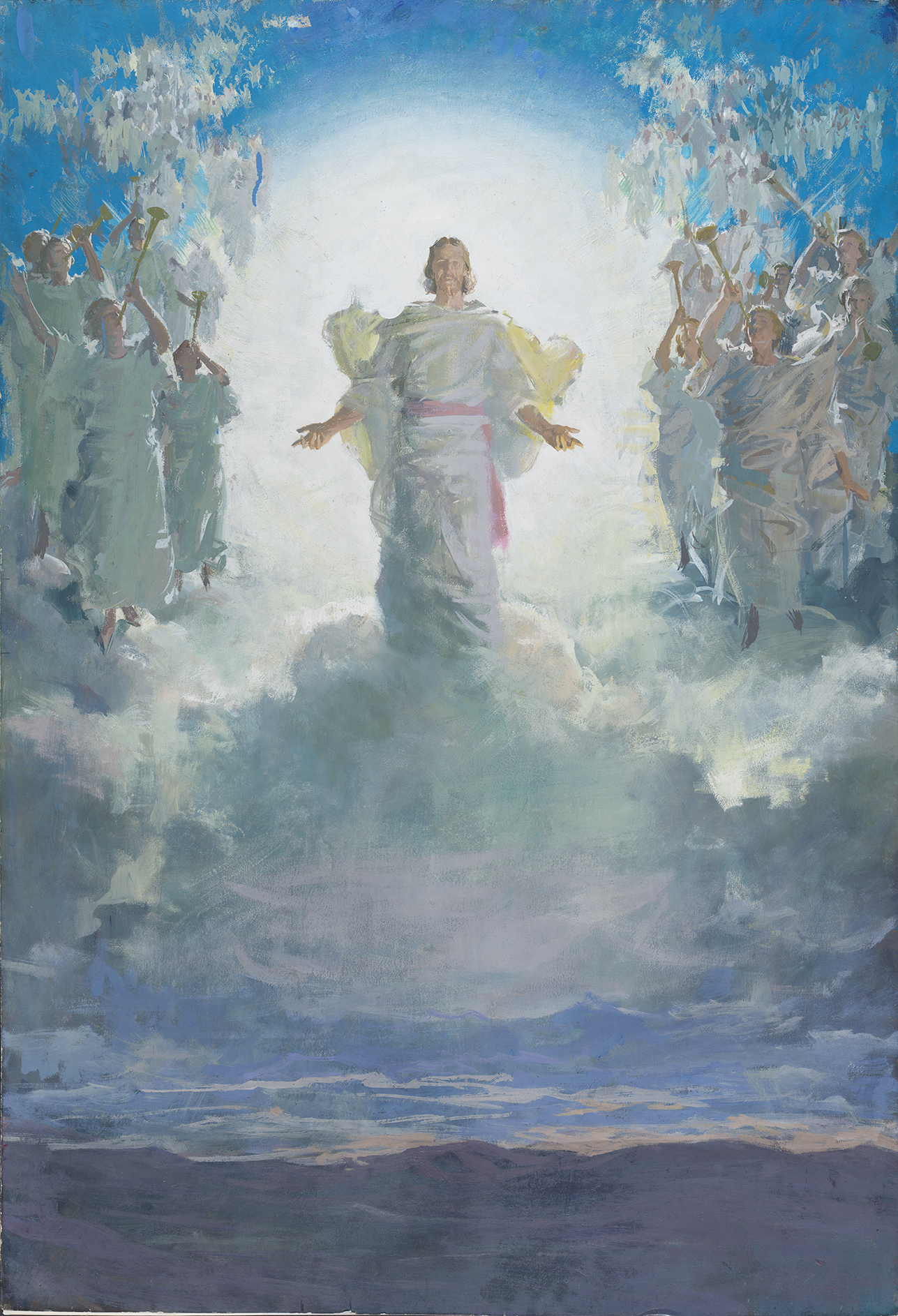 Jesus Second Coming Painting : jesus, second, coming, painting, Legacy, Making:, Paint, Studies, Harry, Anderson