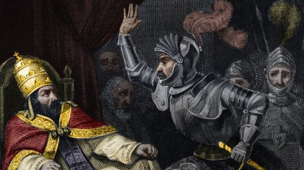 In 1303 the French King Sent Goons to Attack and Kidnap the Pope HISTORY