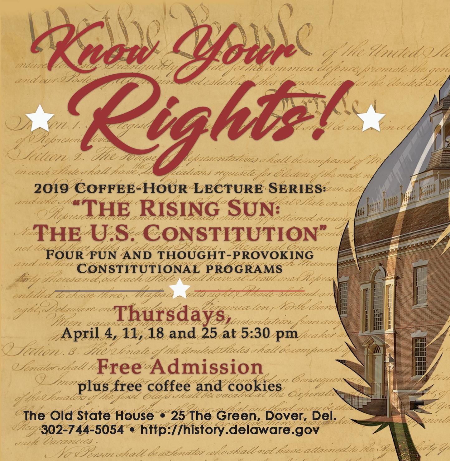 The Rising Sun The U S Constitution The Old State