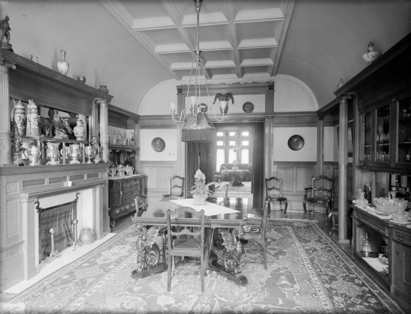 Luxury Interiors of the West  Denver Public Library History