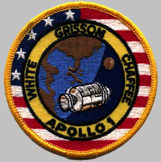 Resultado de imagen para A patch from the never-launched Apollo 1 mission,