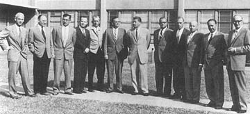Image result for U.S. President Dwight D. Eisenhower signs an executive order transferring Wernher von Braun & other German scientists from the United States Army to NASA