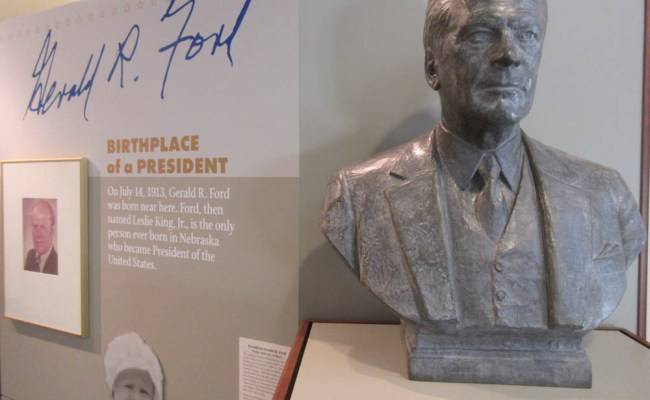 Gerald R Ford Conservation Center And Birthsite History