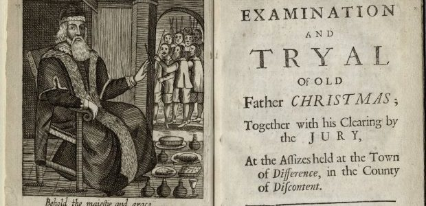Josiah King, The Examination and Tryall of Old Father Christmas