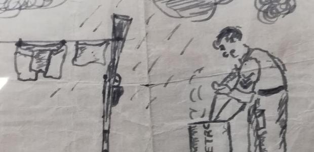 D-Day sketch