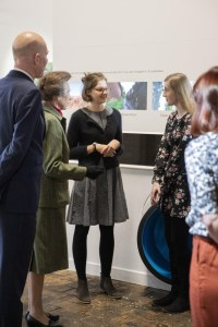 Emily Burgess meeting Princess Anne