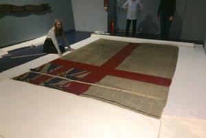 NMRN Jutland Exhibition flag