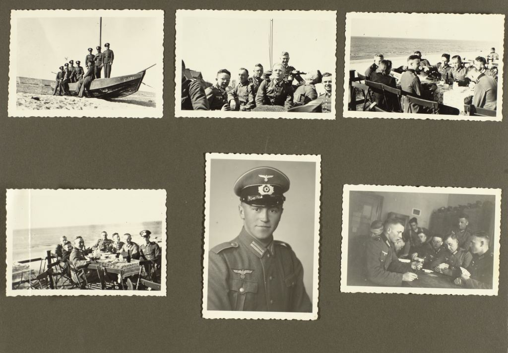 Photos of German officers during World War II